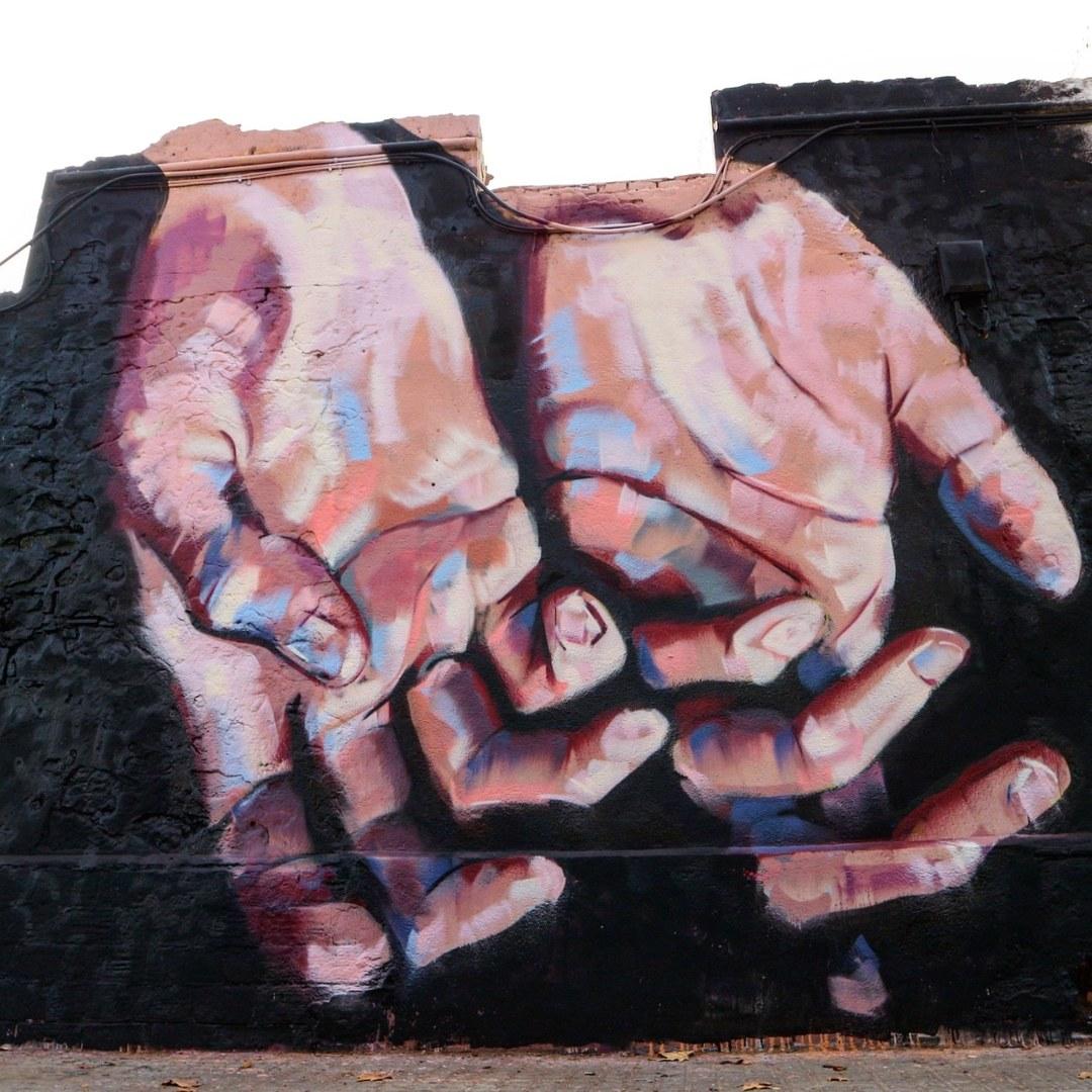 Wallspot - senyorerre3 - Art Manumanu  - Barcelona - Western Town - Graffity - Legal Walls - Illustration - Artist - elmanu