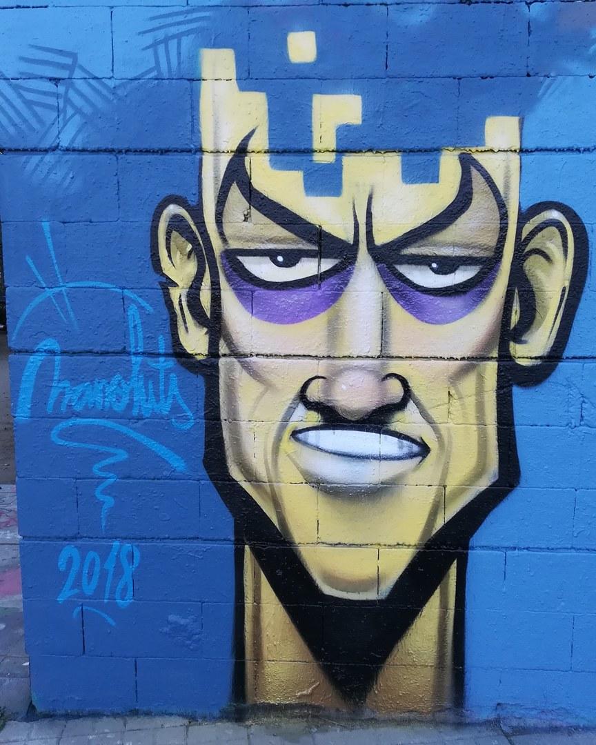 Wallspot - Manoluts -  - Barcelona - Drassanes - Graffity - Legal Walls -