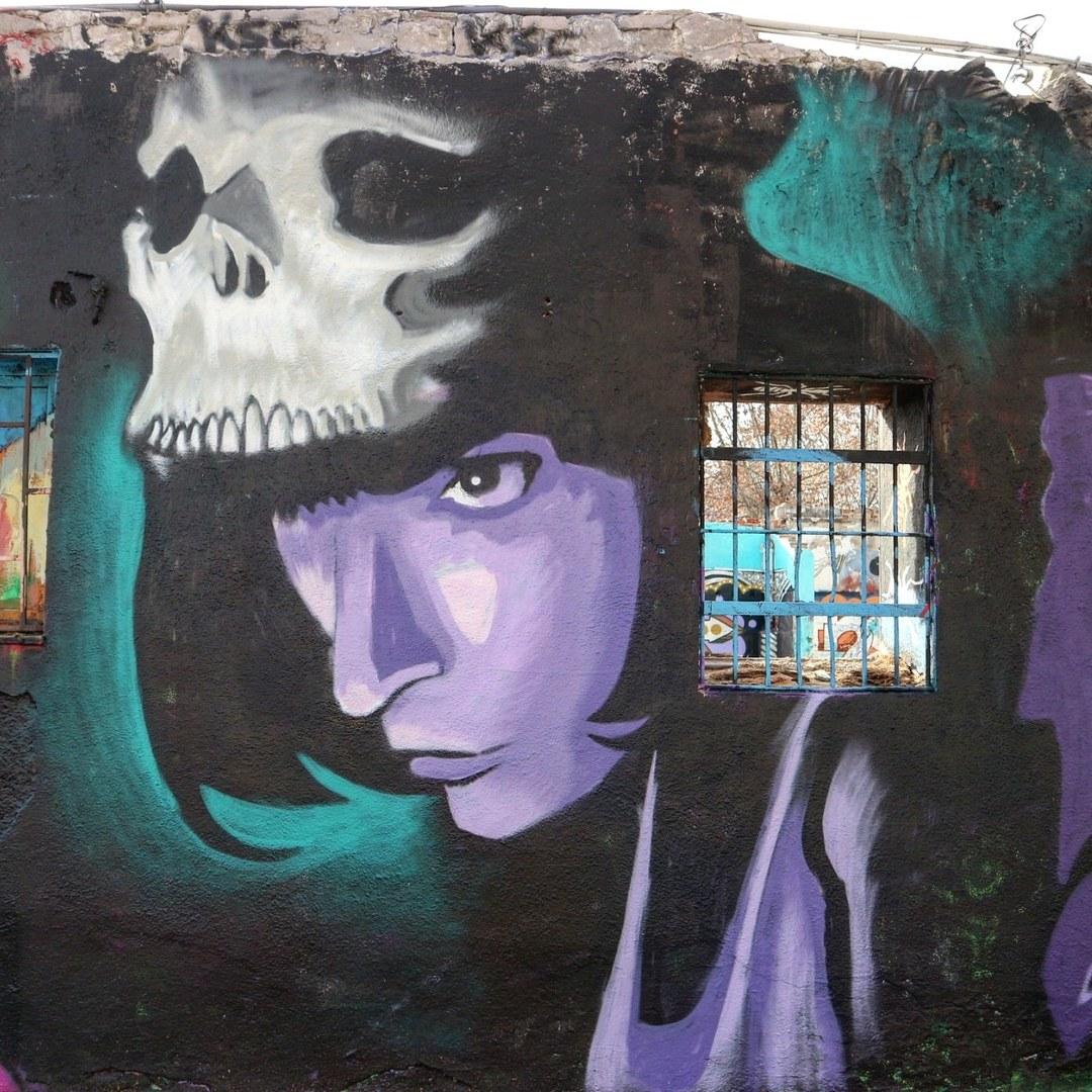 Wallspot - senyorerre3 - Art Sm172  - Barcelona - Western Town - Graffity - Legal Walls - Illustration