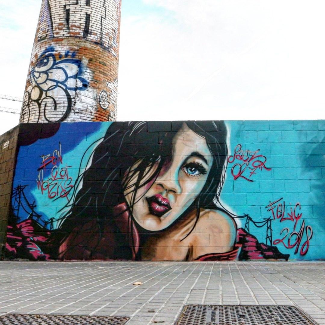Wallspot - senyorerre3 - Art Saez07 - Barcelona - Poble Nou - Graffity - Legal Walls - Illustration