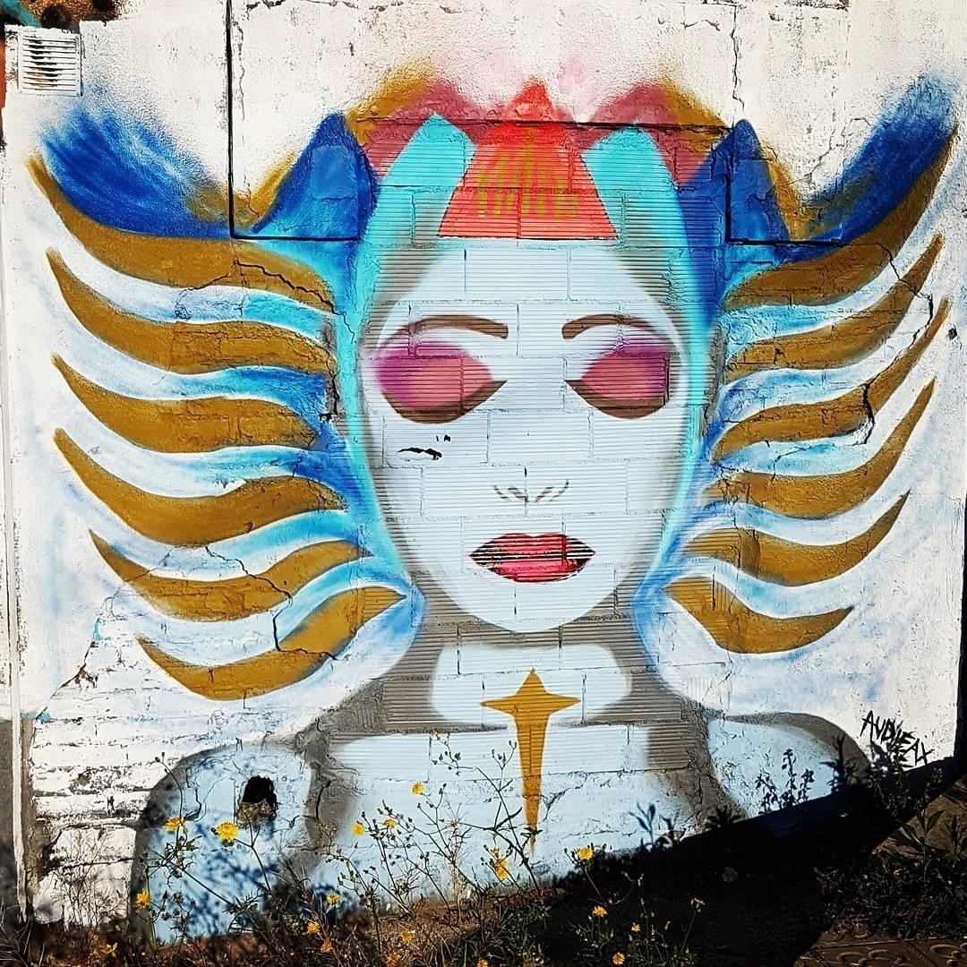 Wallspot - senyorerre3 - Art Audifax - Barcelona - Selva de Mar - Graffity - Legal Walls - Illustration - Artist - Audifax