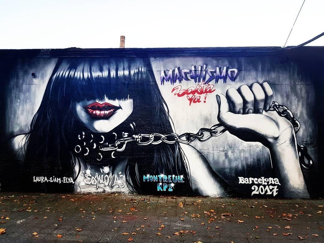 Wallspot - senyorerre3 - Art Espion - Barcelona - Selva de Mar - Graffity - Legal Walls - Illustration