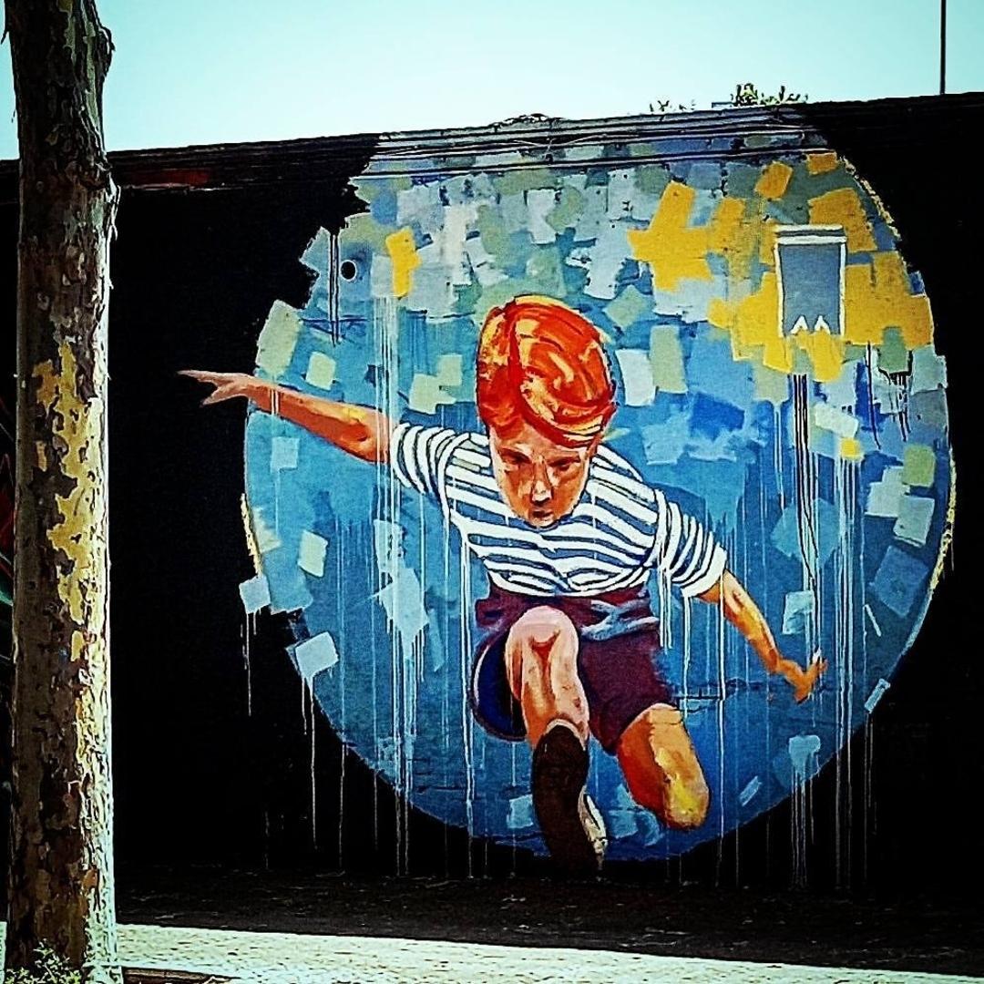 Wallspot - senyorerre3 - Art Manumanu  - Barcelona - Selva de Mar - Graffity - Legal Walls -  - Artist - elmanu