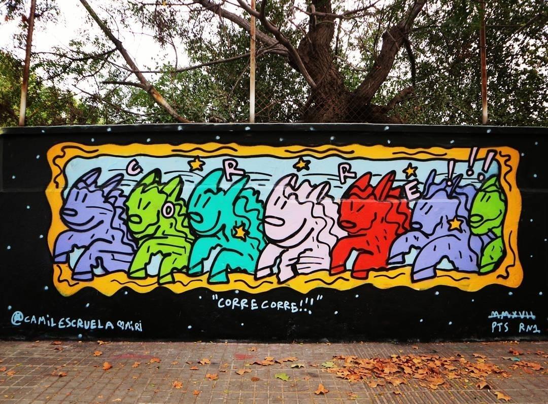 Wallspot - senyorerre3 - Art Kamil Escruela - Barcelona - Agricultura - Graffity - Legal Walls - Illustration - Artist - kamil escruela