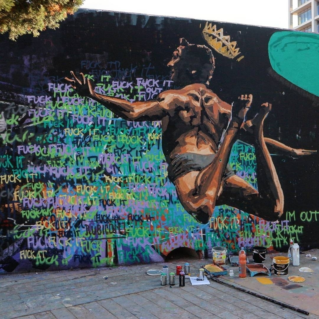 Wallspot - senyorerre3 - Art Rubicon - Barcelona - Tres Xemeneies - Graffity - Legal Walls - Illustration - Artist - Rubicon1
