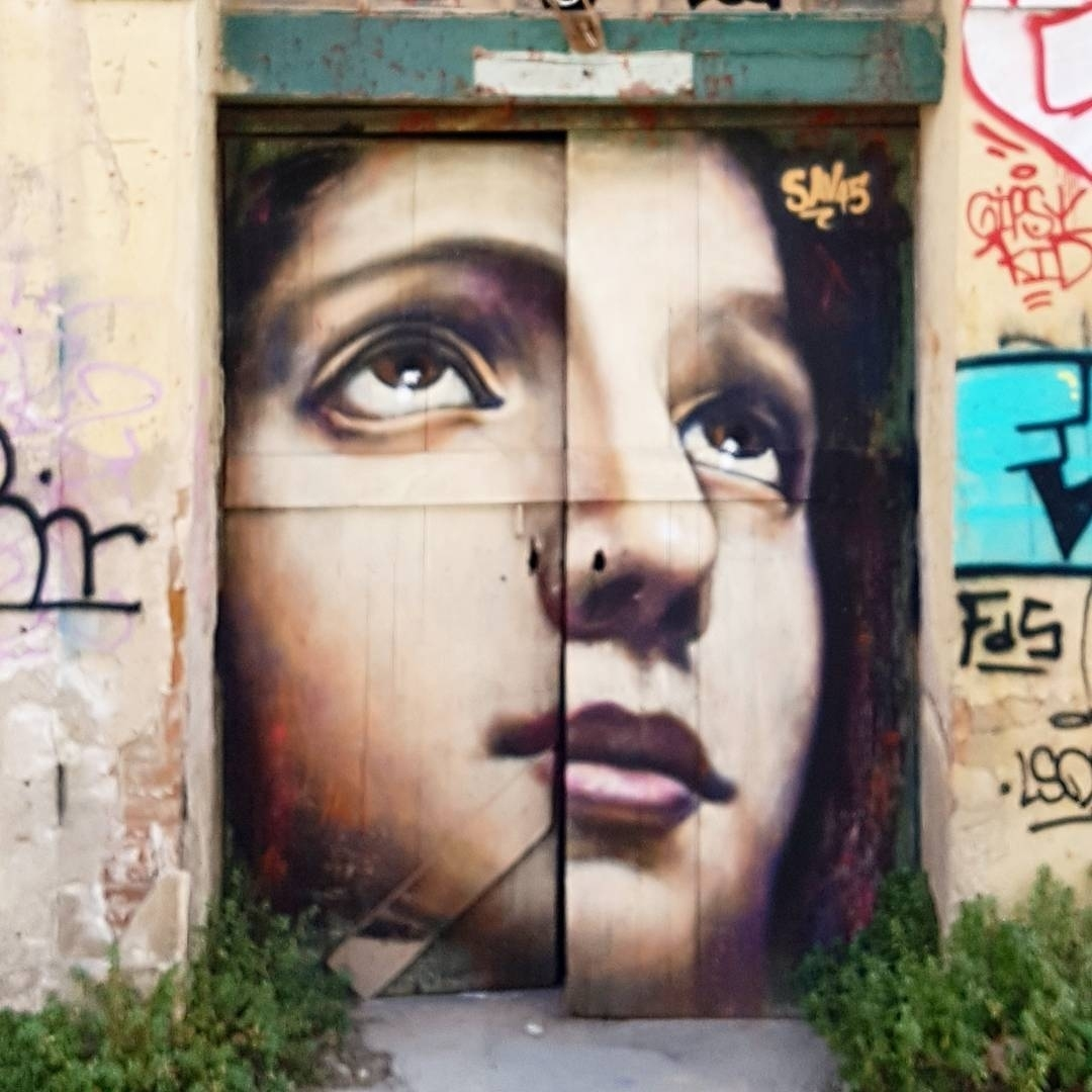 Wallspot - senyorerre3 - Art SAV45  - Barcelona - Western Town - Graffity - Legal Walls - Illustration - Artist - savf