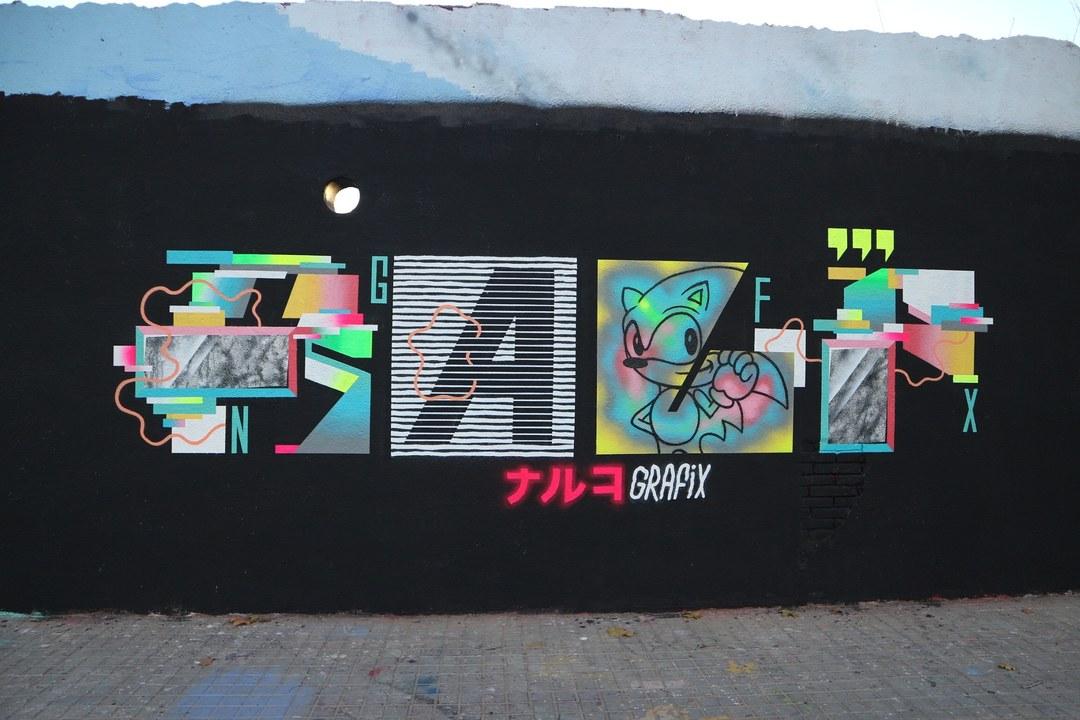 Wallspot - senyorerre3 - Art Ralp - Barcelona - Agricultura - Graffity - Legal Walls - Letters, Illustration
