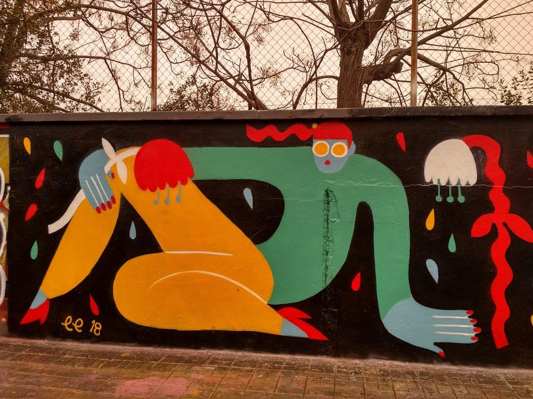 Wallspot - evalop - evalop - Proyecto 01/02/2018 - Barcelona - Agricultura - Graffity - Legal Walls - Il·lustració - Artist - EmilyE