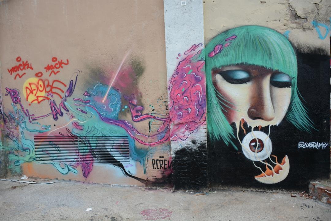 Wallspot - Lluís Olivé - LOKO RAMZEE - Barcelona - Poble Nou - Graffity - Legal Walls - Illustration