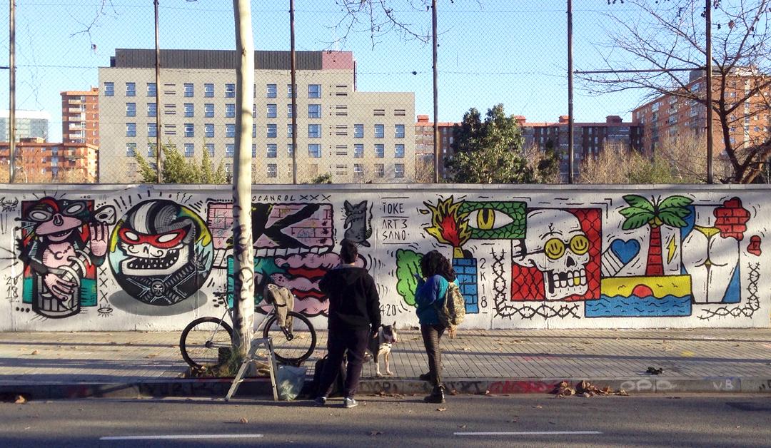 Wallspot - art3sano - Agricultura - art3sano - Barcelona - Agricultura - Graffity - Legal Walls - , ,