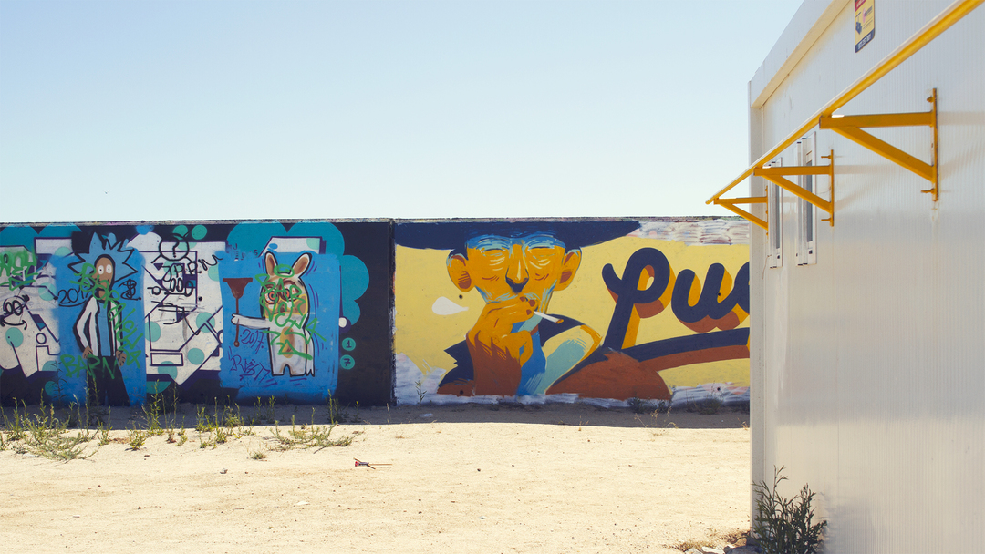 Wallspot - Jurij - Luego - Barcelona - Forum beach - Graffity - Legal Walls - ,