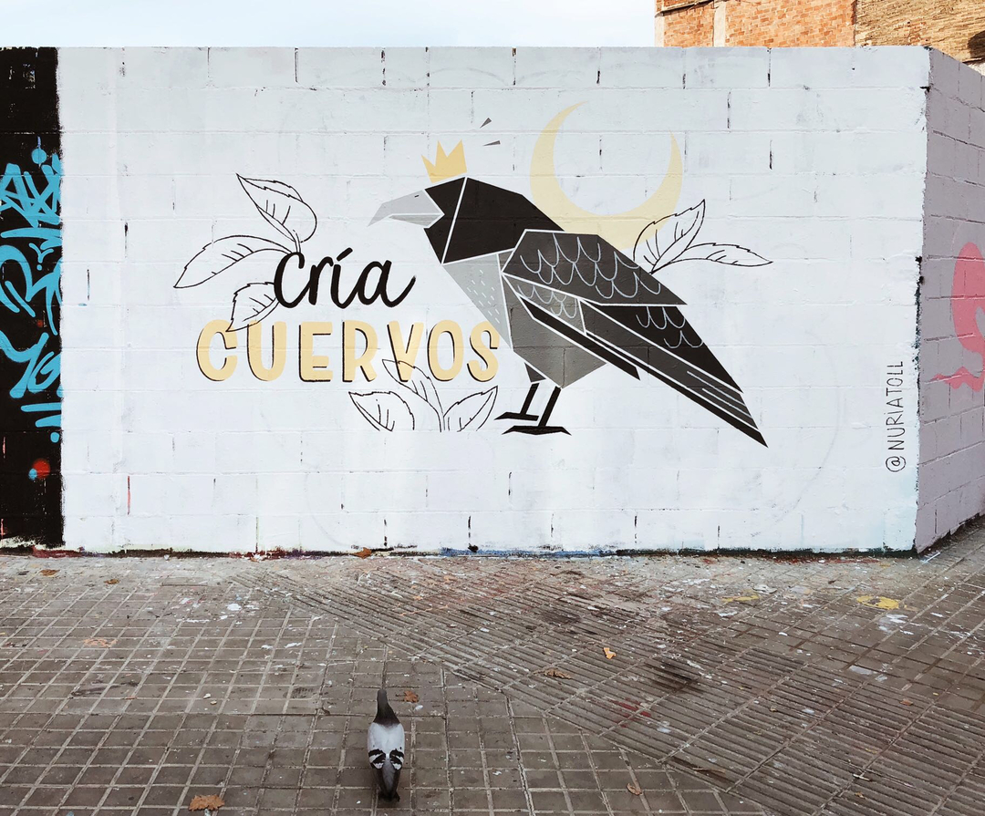 Wallspot - nuriatoll -  - Barcelona - Poble Nou - Graffity - Legal Walls - Illustration