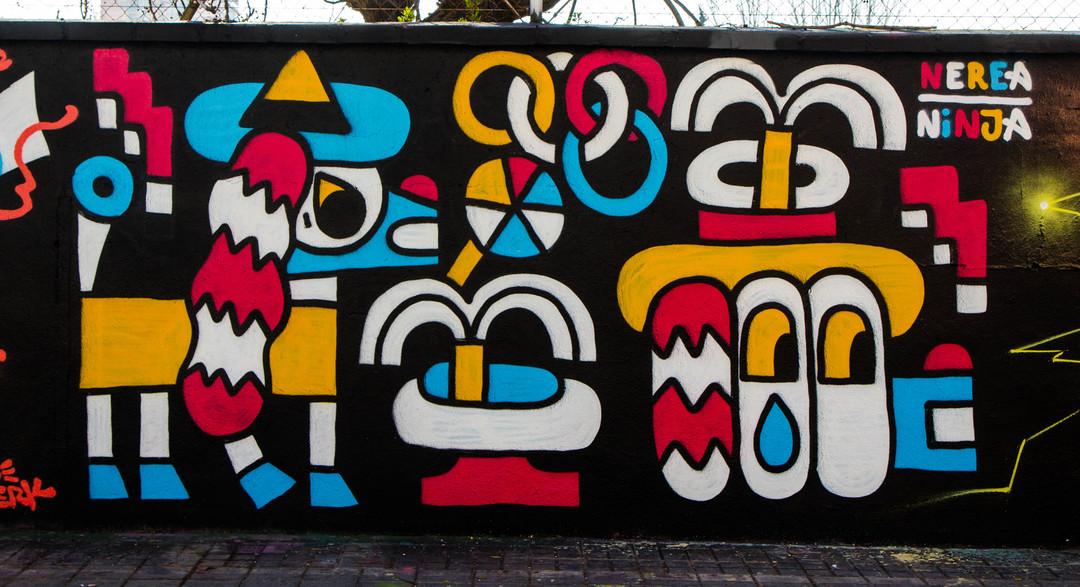 Wallspot - JOAN PIÑOL - NEREA NINJA - Barcelona - Agricultura - Graffity - Legal Walls -  - Artist - Osier Luther