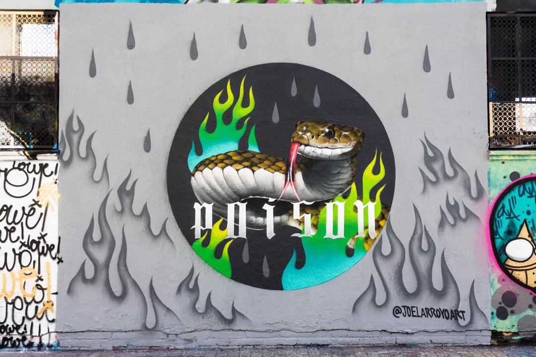 Wallspot - JOAN PIÑOL - JOAN PIÑOL - Projecte 24/02/2018 - Barcelona - Agricultura - Graffity - Legal Walls -  - Artist - Joelarroyo