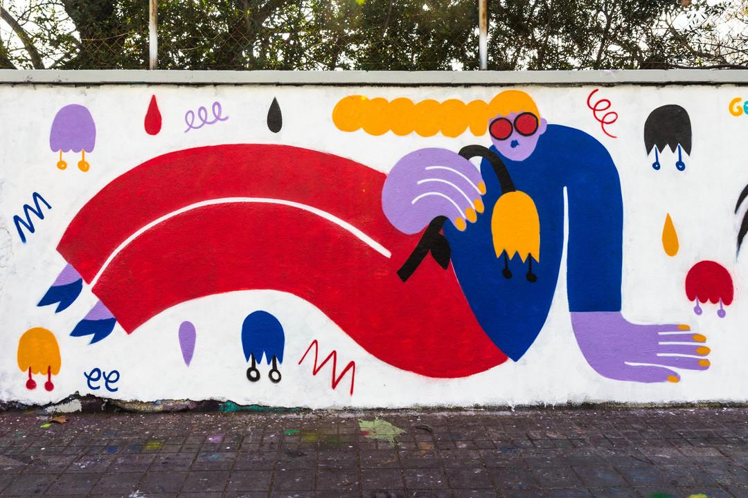 Wallspot - JOAN PIÑOL - JOAN PIÑOL - Projecte 02/03/2018 - Barcelona - Agricultura - Graffity - Legal Walls -  - Artist - EmilyE