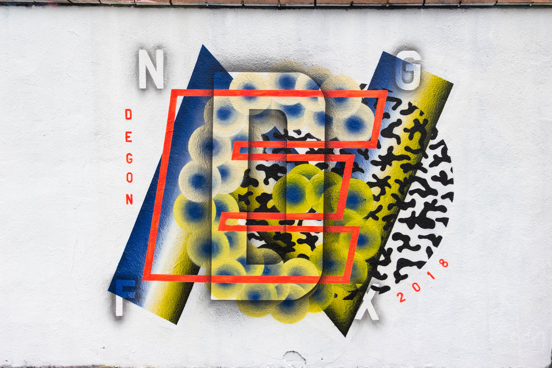 Wallspot - JOAN PIÑOL - JOAN PIÑOL - Projecte 06/03/2018 - Barcelona - Agricultura - Graffity - Legal Walls -  - Artist - degon