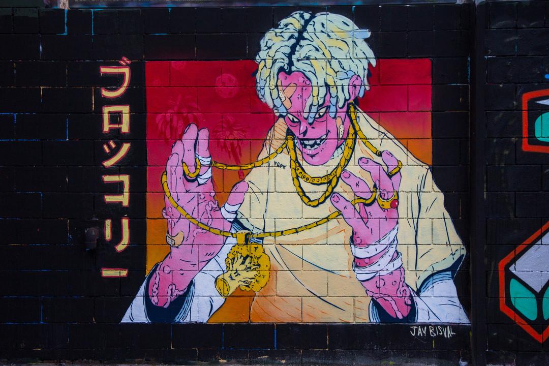 Wallspot - JOAN PIÑOL - JOAN PIÑOL - Projecte 12/03/2018 - Barcelona - Drassanes - Graffity - Legal Walls -