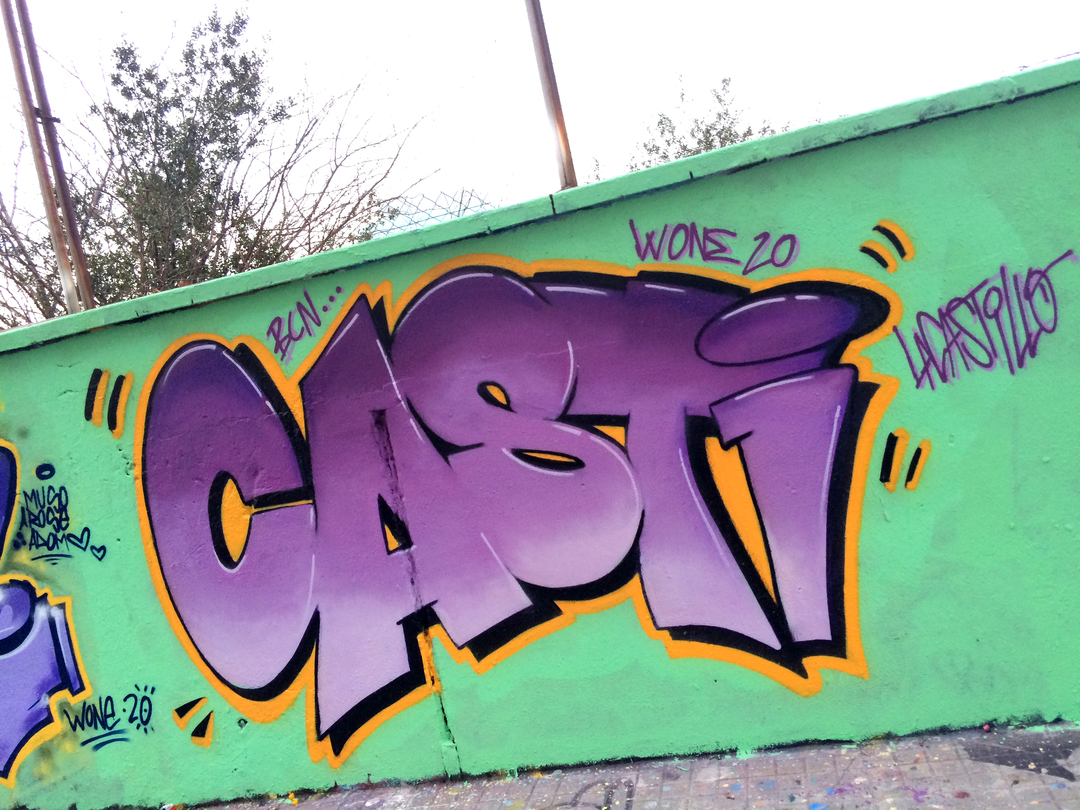 Wallspot - LaCastillo - CASTI - Barcelona - Agricultura - Graffity - Legal Walls - Letters