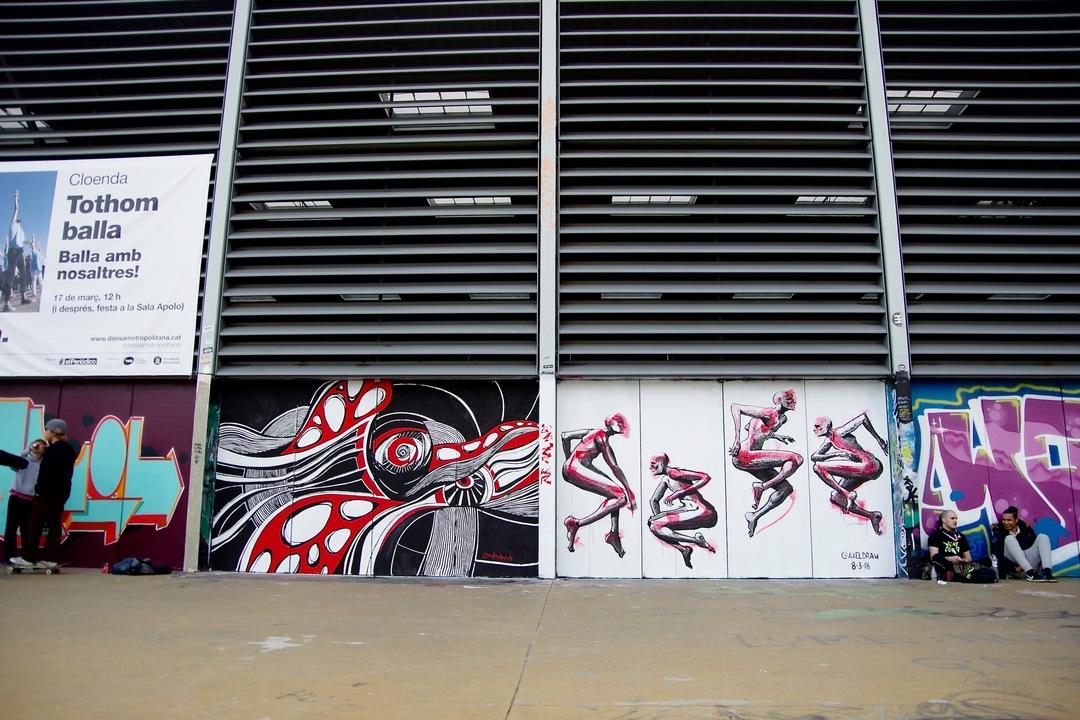 Wallspot - redmadpeople - Tres Xemeneies - redmadpeople - Barcelona - Tres Xemeneies - Graffity - Legal Walls - Illustration, Others