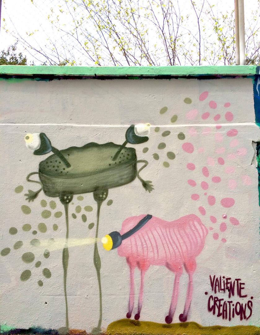 Wallspot - Valiente Creations - Seres 1 - Barcelona - Agricultura - Graffity - Legal Walls - Illustration