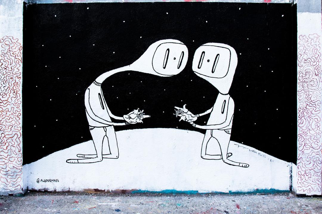 Wallspot - JOAN PIÑOL - @ALGODEMASS - Barcelona - Agricultura - Graffity - Legal Walls -  - Artist - algodemass