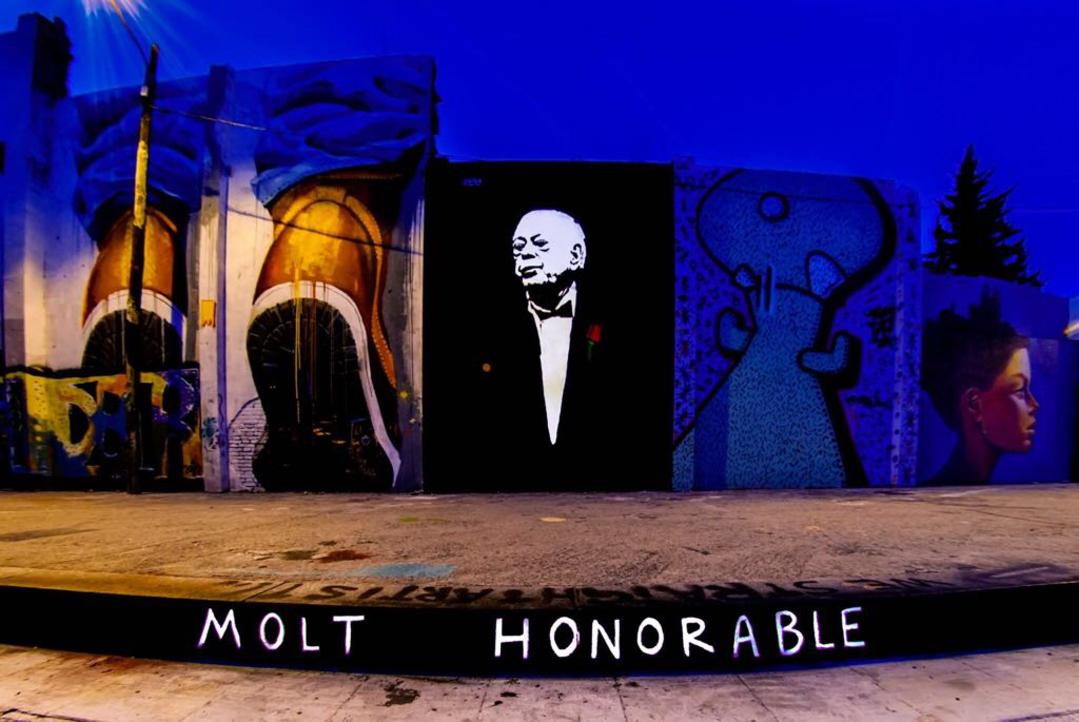Wallspot - LaCastillo - MOLT HONORABLE  - Barcelona - Agricultura - Graffity - Legal Walls -