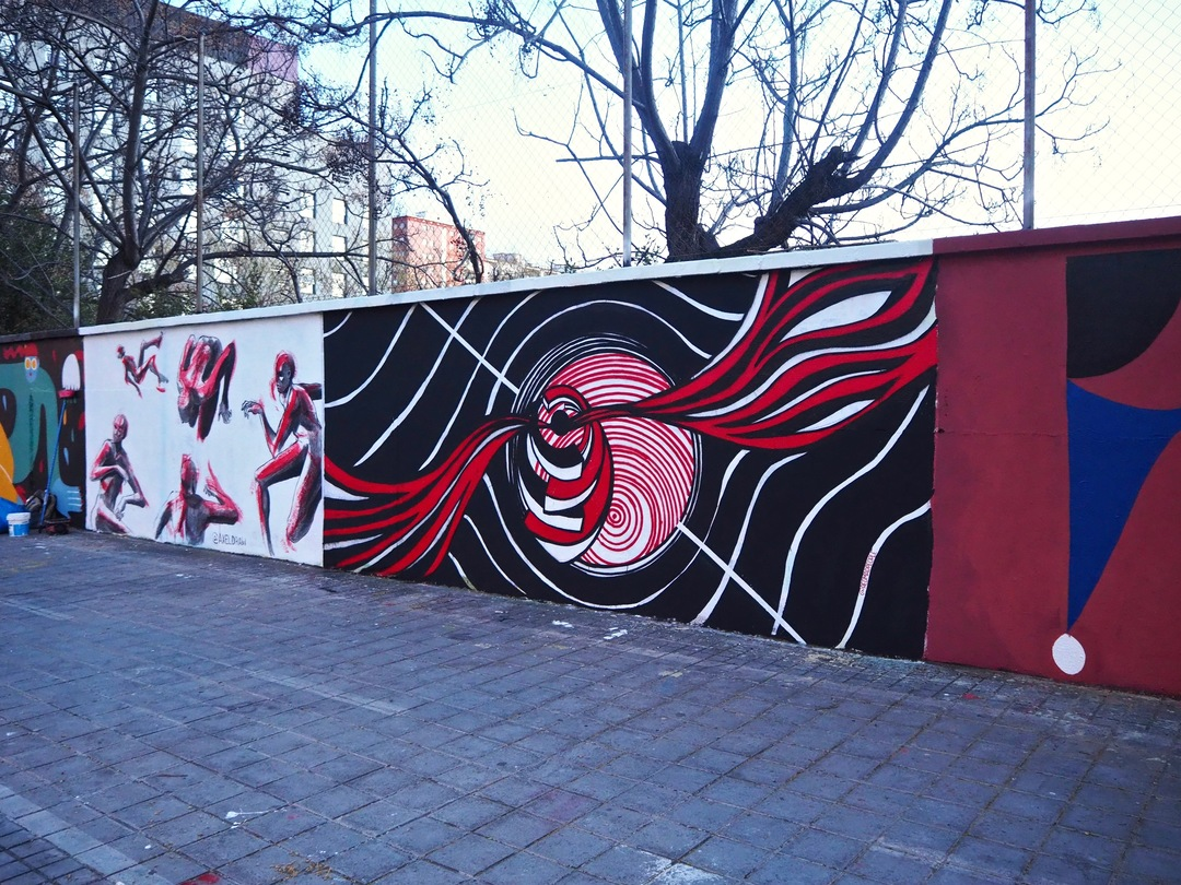 Wallspot - redmadpeople - Agricultura - redmadpeople - Barcelona - Agricultura - Graffity - Legal Walls - Illustration, Others