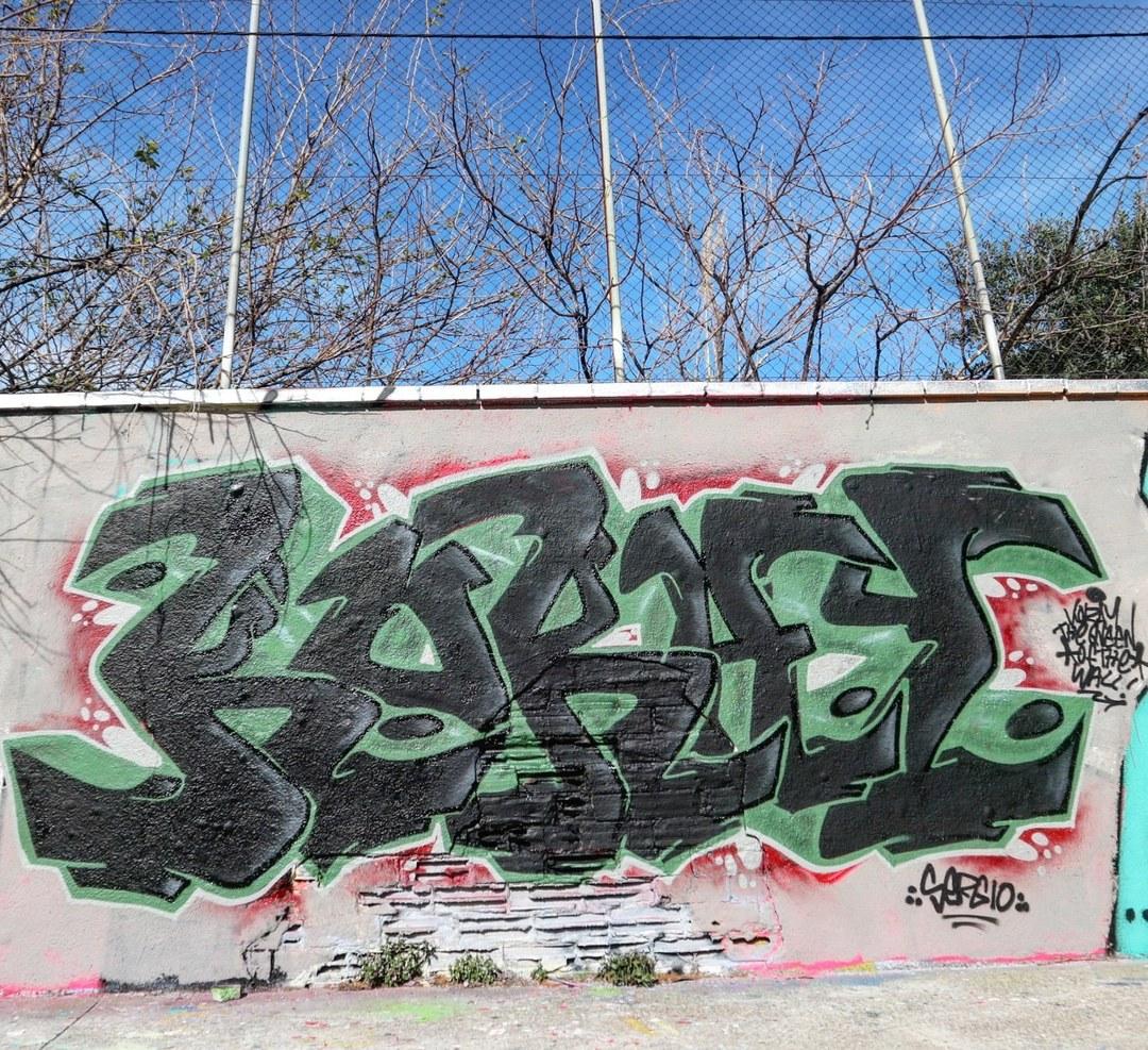 Wallspot - senyorerre3 - Art KORAY - Barcelona - Agricultura - Graffity - Legal Walls - Letters