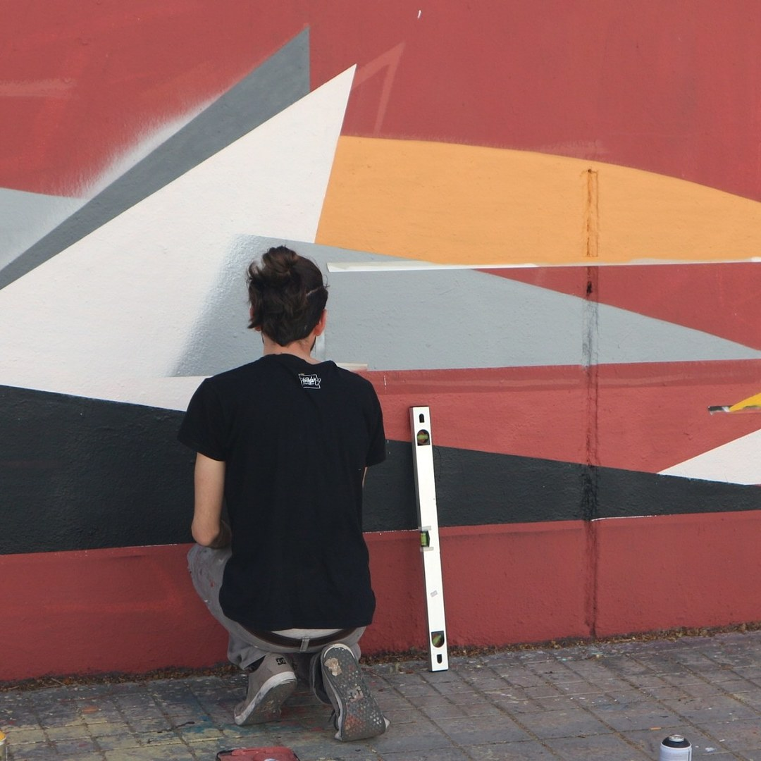 Wallspot - senyorerre3 - Art NICO BARRIOS - Barcelona - Agricultura - Graffity - Legal Walls - Others - Artist - Nico Barrios