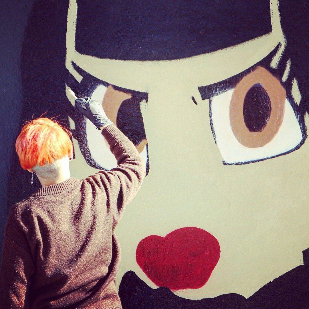 Wallspot - senyorerre3 - Art GOTA DE ABRIL - Barcelona - Agricultura - Graffity - Legal Walls - Illustration