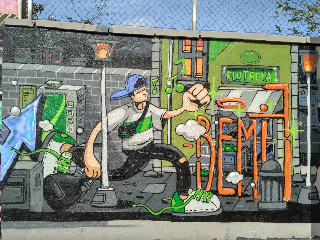 Wallspot - evalop - evalop - Proyecto 05/04/2018 - Barcelona - Agricultura - Graffity - Legal Walls - Illustration
