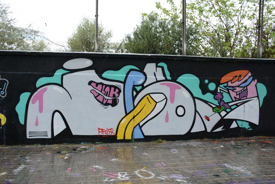 Wallspot - Lluís Olivé - JAPON - Barcelona - Agricultura - Graffity - Legal Walls - Letters, Illustration