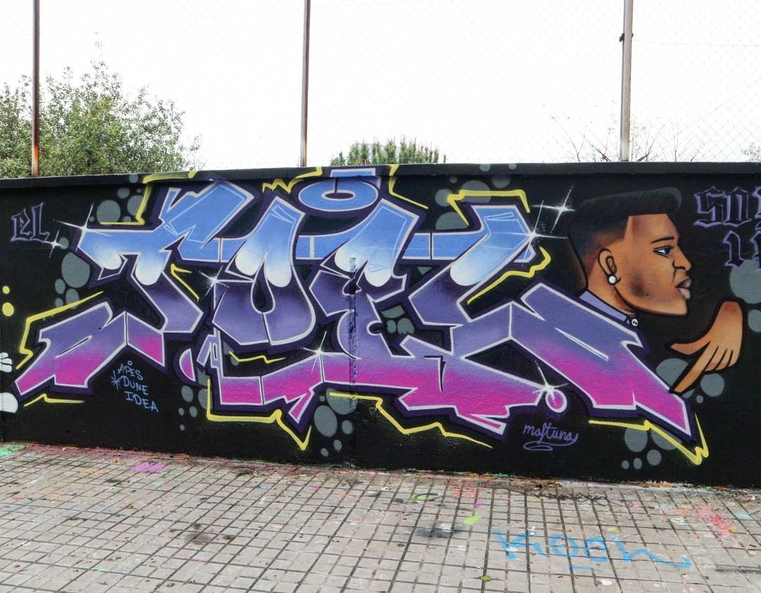 Wallspot - senyorerre3 - Art EL JOEL - Barcelona - Agricultura - Graffity - Legal Walls - Letters, Illustration