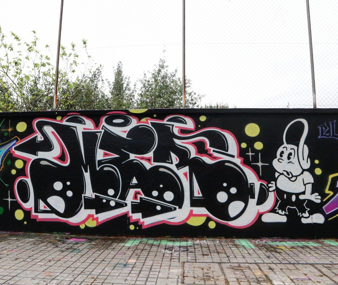 Wallspot - senyorerre3 - Art MER - Barcelona - Agricultura - Graffity - Legal Walls - Letters, Illustration