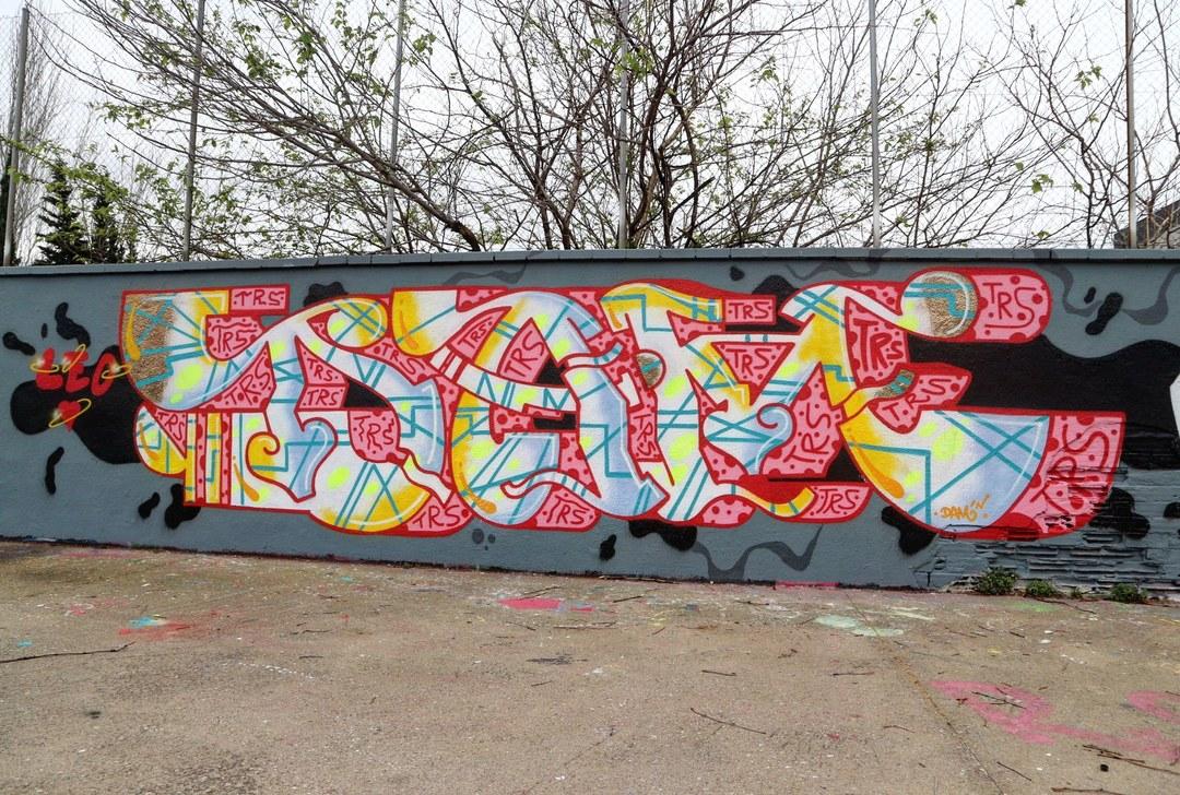 Wallspot - senyorerre3 - Art DAM TRS - Barcelona - Agricultura - Graffity - Legal Walls - Letters
