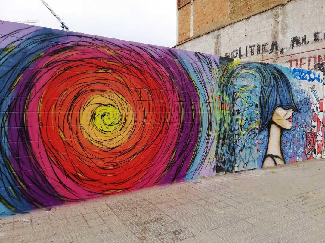 Wallspot - DALA @daliladuartedrd -  - Barcelona - Poble Nou - Graffity - Legal Walls - Il·lustració
