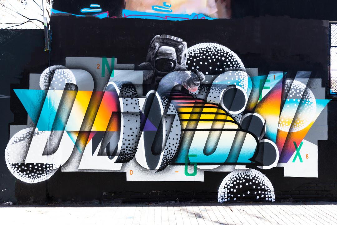 Wallspot - JOAN PIÑOL - JOAN PIÑOL - Projecte 11/04/2018 - Barcelona - Agricultura - Graffity - Legal Walls -  - Artist - degon