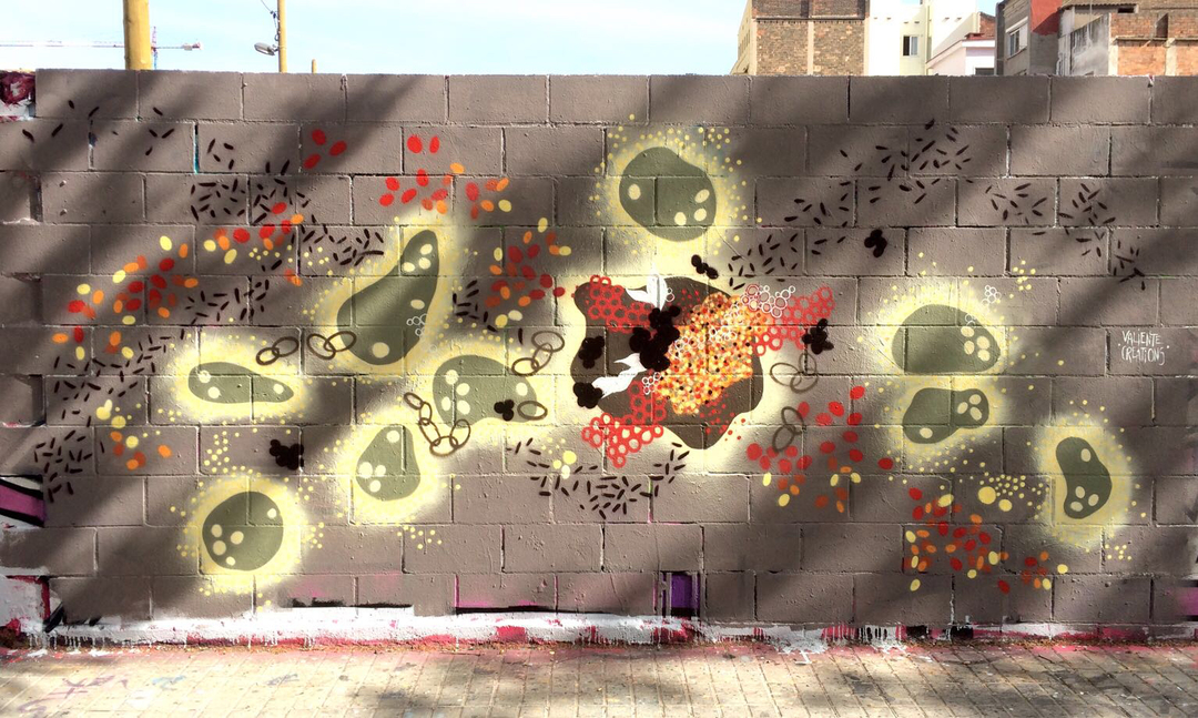 Wallspot - Valiente Creations -  - Barcelona - Poble Nou - Graffity - Legal Walls -