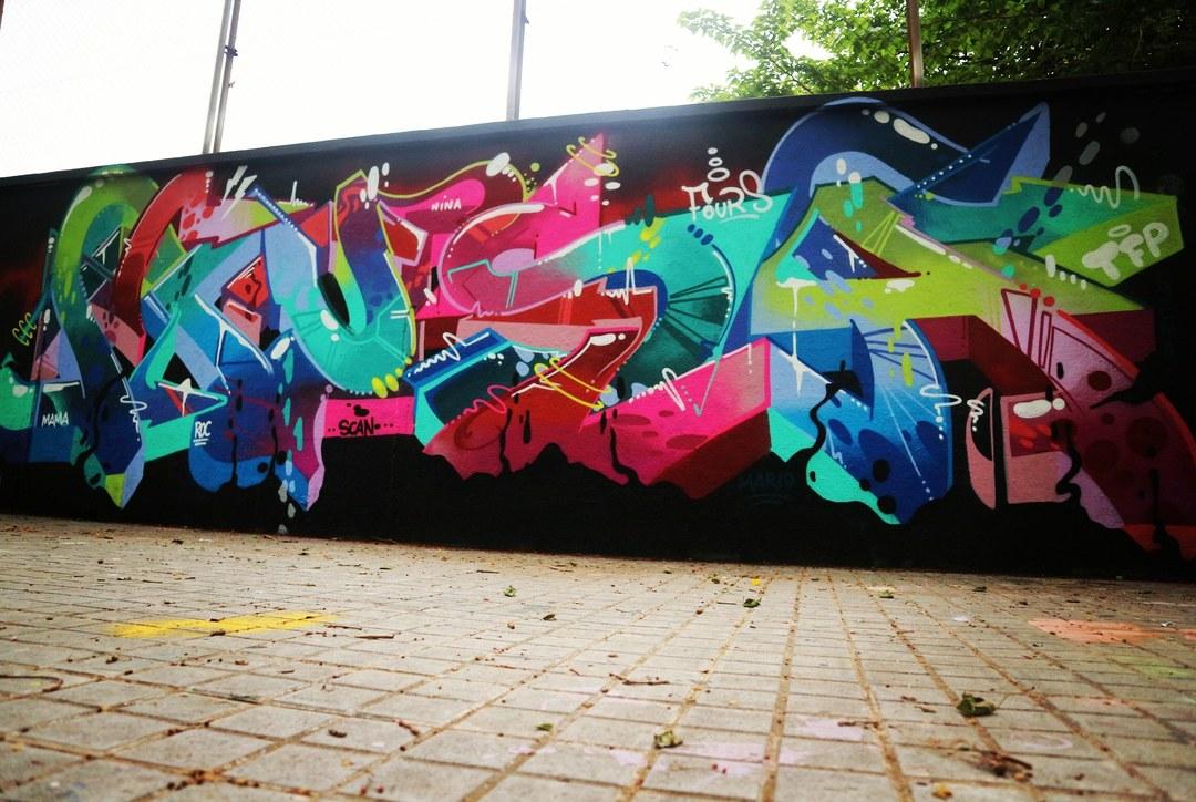 Wallspot - senyorerre3 - Art MUSA - Barcelona - Agricultura - Graffity - Legal Walls - Letters, Illustration