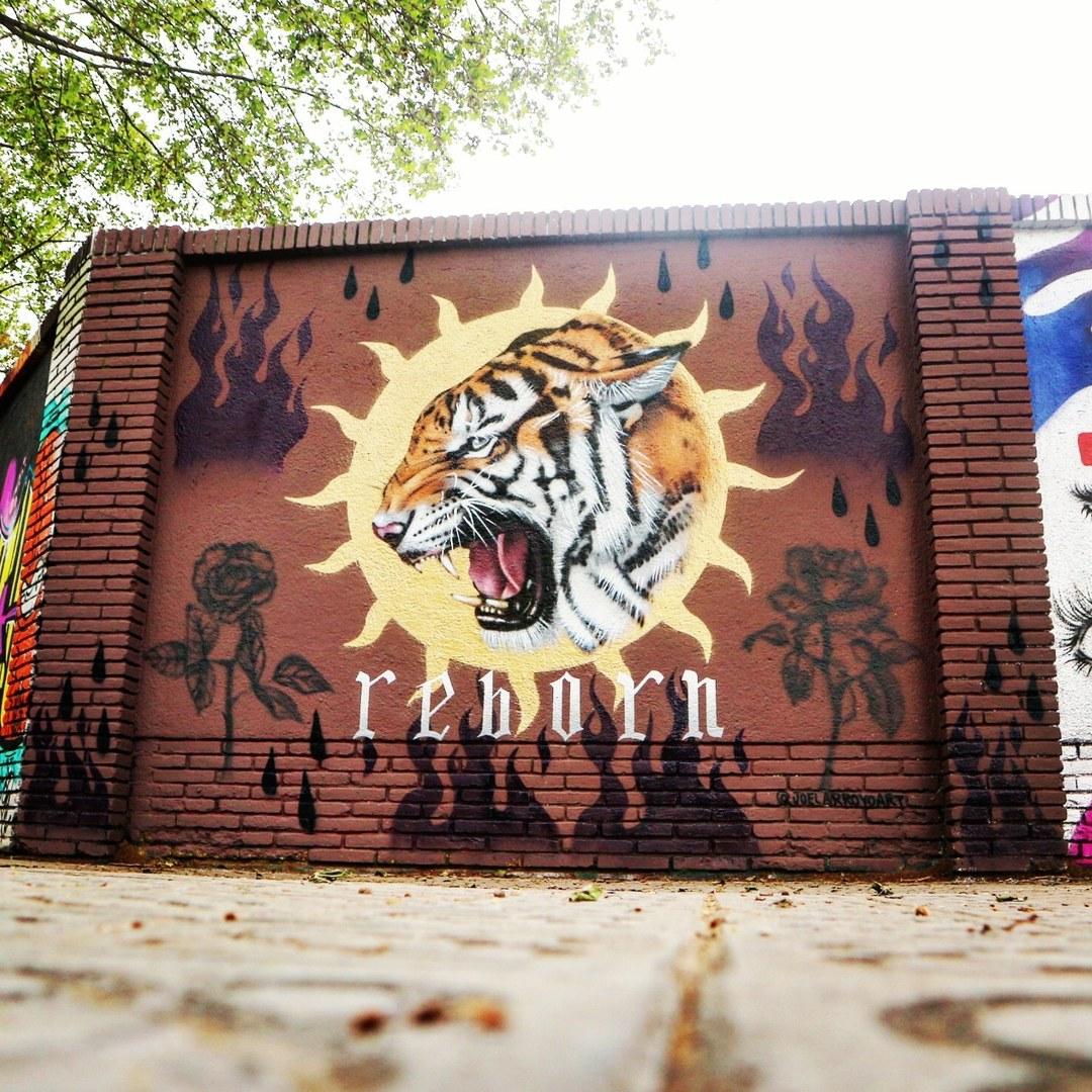 Wallspot - senyorerre3 - Art JOEL ARROYO - Barcelona - Agricultura - Graffity - Legal Walls - Illustration - Artist - Joelarroyo