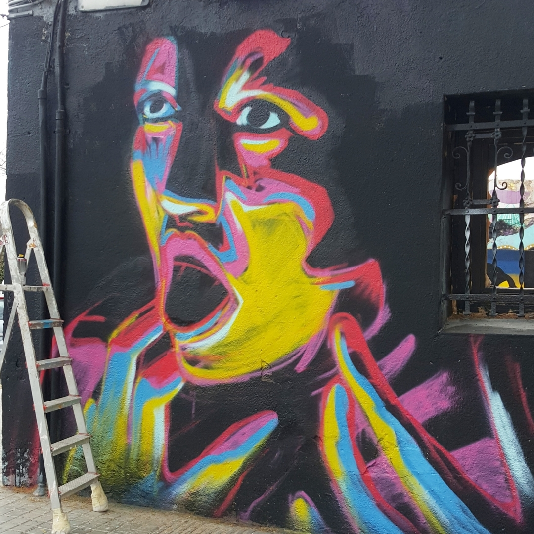 Wallspot - SM 172 -  - Barcelona - Western Town - Graffity - Legal Walls -