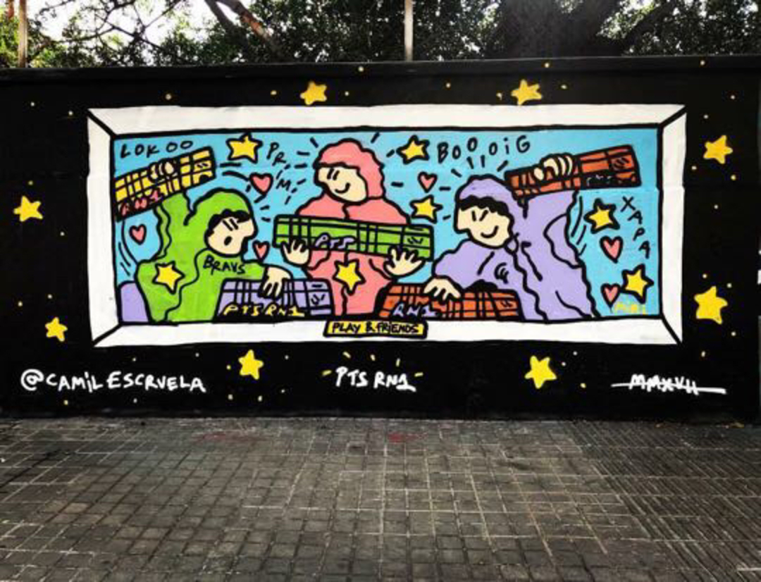 Wallspot - kamil escruela - playing trains - Barcelona - Agricultura - Graffity - Legal Walls - Illustration, Others