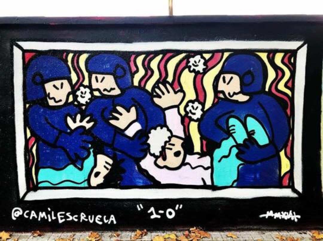 Wallspot - kamil escruela - 1 de octubre 2017 - Barcelona - Poble Nou - Graffity - Legal Walls - Illustration, Others