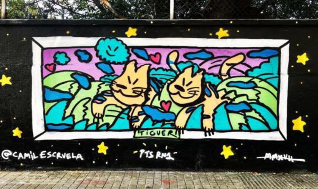 Wallspot - kamil escruela - tiguerasos - Barcelona - Drassanes - Graffity - Legal Walls - Illustration, Others