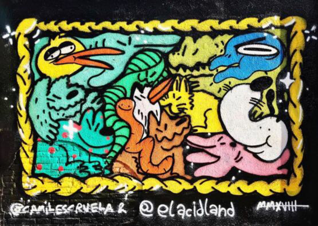 Wallspot - kamil escruela - zooologicgraff - Barcelona - Drassanes - Graffity - Legal Walls - Il·lustració, Altres