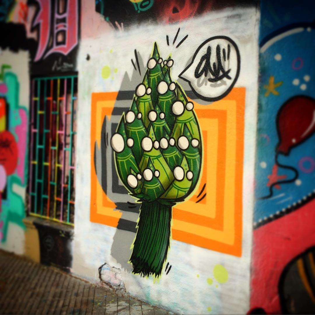 Wallspot - ONA - ..alcachONA!.. - Barcelona - Selva de Mar - Graffity - Legal Walls - Il·lustració, Altres
