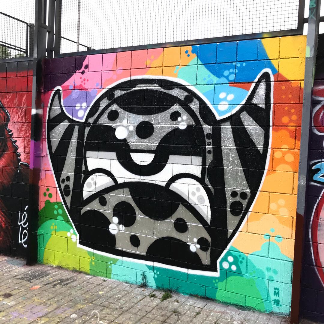 Wallspot - Mr.M - Drassanes - Barcelona - Drassanes - Graffity - Legal Walls -