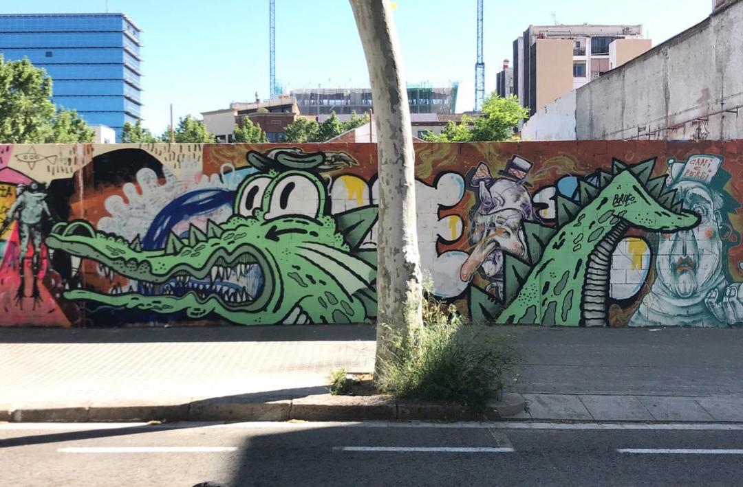 Wallspot - Borneo Modofoker - Poble Nou - Borneo Modofoker - Barcelona - Poble Nou - Graffity - Legal Walls - Others