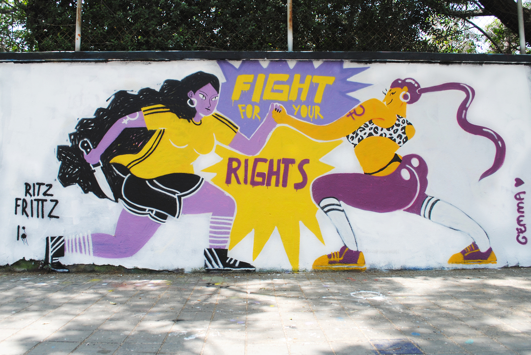 Wallspot - gemfontanals - FIGHT FOR YOUR RIGHTS - Barcelona - Agricultura - Graffity - Legal Walls - Illustration