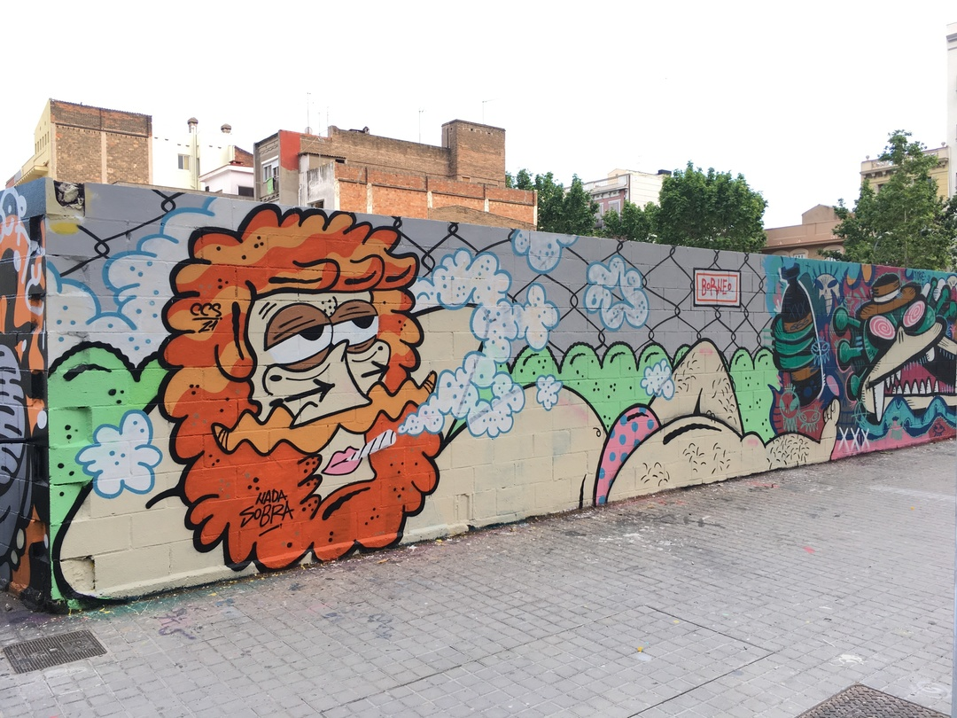 Wallspot - Borneo Modofoker - Poble Nou - Borneo Modofoker - Barcelona - Poble Nou - Graffity - Legal Walls - Others